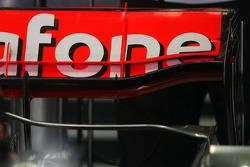Lewis Hamilton, McLaren Mercedes, new McLaren Mercedes rear wing