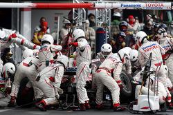 Pitstop, Timo Glock, Toyota F1 Team