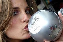 Formula Unas girls contest: the winner