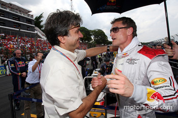 Pasquale Lattuneddu and David Coulthard