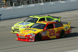 Kevin Harvick and Paul Menard