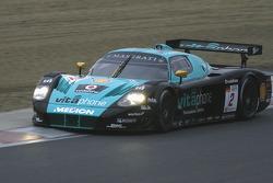 #2 Vitaphone Racing Team Maserati MC 12: Miguel Ramos, Alexandre Negrao
