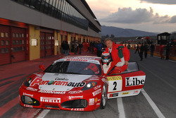 Friday race: race winner Niki Cadei and Stefano Gai