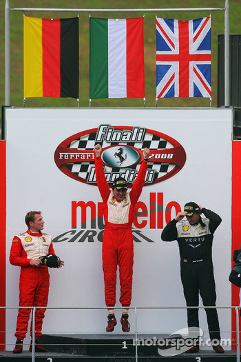 Friday race: Coppa Shell podium