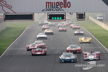Saturday: Group C race 1 start