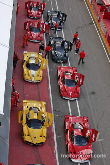 Saturday: FXX cars