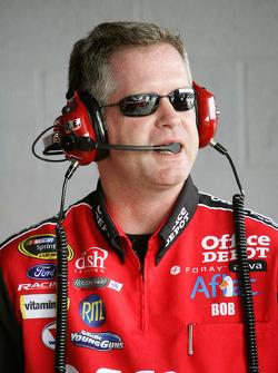 Crew chief Bob Osbourne