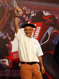 WTCC championship second place Gabriele Tarquini