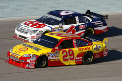 Kevin Harvick and David Ragan