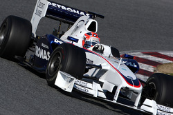 Robert Kubica,  BMW Sauber F1 Team, interim 2009 car
