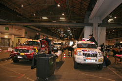 Overall view of scrutineering