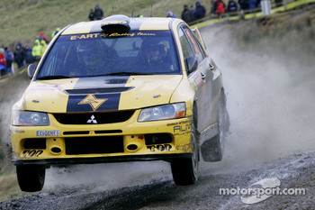 Evgeny Novikov and Dmitry Chumak, Mitsubishi Lancer Evo IX