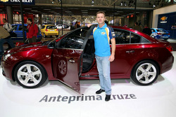 Nicola Larini, WTCC driver with the Chevrolet Cruze