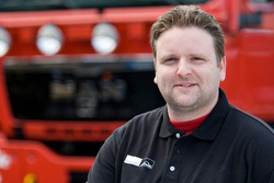 MAN Rally Team: Martijn Glebbeek, service truck 4X4
