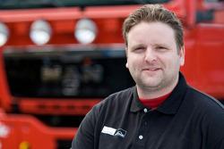 MAN Rally Team: Martijn Glebbeek, service truck 4X4