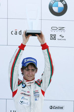 Podium: third place Esteban Gutierrez