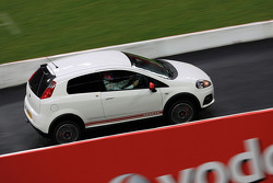 Fiat Punto Abarth on track
