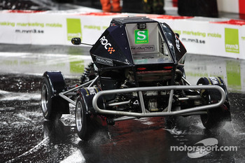 Sebastian Vettel in an RX150 Buggy