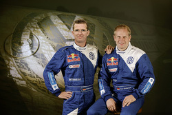 Volkswagen Motorsport: driver Dieter Depping and co-driver Timo Gottschalk