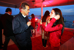 Dr Mario Theissen BMW Sauber F1 Team Principal at the Fly Kingfisher Boat Party