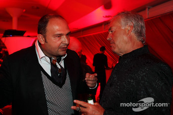 Colin Kolles Force India F1 Team Principal at the Fly Kingfisher Boat Party