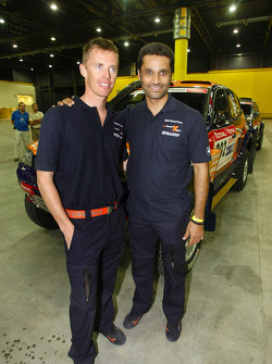 Guerlain Chicherit and Nasser Saleh Al Attiyah