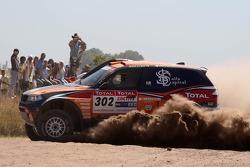 #302 BMW X3 CC: Nasser Saleh Al Attiyah and Tina Thorner
