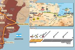 Stage 2: 2009-01-04, Santa Rosa de la Pampa to Puerto Madryn