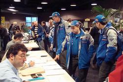 Team Kamaz Master at scrutineering