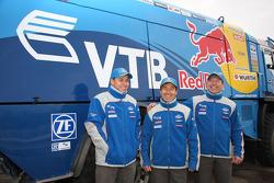 Team Kamaz Master: #506 Kamaz 4326, Firdaus Kabirov, Aydar Belyaev and Andrey Mokeev
