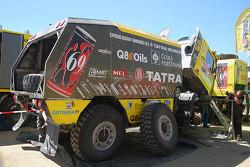 Loprais Tatra Team service area
