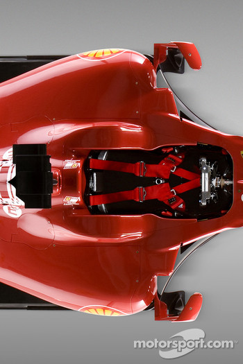 Detail of the new Ferrari F60
