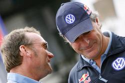 Kris Nissen and Carlos Sainz