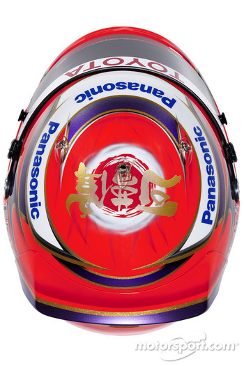 Helmet of Kamui Kobayashi