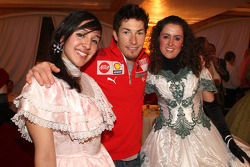 Nicky Hayden in charming company