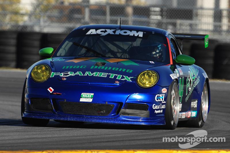#14 Autometrics Motorsports Porsche GT3: Jack Baldwin, Claudio Burtin, Cory Friedman, Mac McGehee, Martin Ragginger