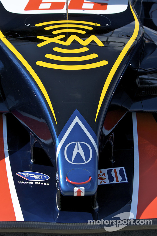 Detail of the #66 de Ferran Motorsports Acura ARX 02a Acura