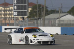 #46 Flying Lizard Motorsports Porsche 911 GT3 RSR: Jorg Bergmeister, Patrick Long, Seth Neiman, Darren Law, Johannes van Overbeek