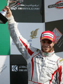 Jerome d'Ambrosio 3rd on the podium