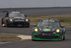 #67 TRG Porsche GT3: Jorg Bergmeister, Andy Lally, Patrick Long, Justin Marks, RJ Valentine