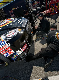 Phoenix Racing Chevrolet team members at work