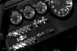 Instrument panel of the Red Bull Racing Team Toyota