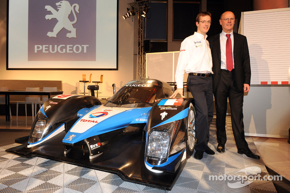 Sébastien Bourdais and Olivier Quesnel