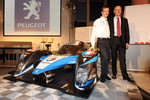 Sbastien Bourdais and Olivier Quesnel
