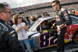 Scott Speed, Red Bull Racing Team Toyota with his girlfriend