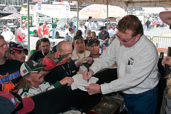 Richard Childress makes an appearance at the Jack Daniels Experience