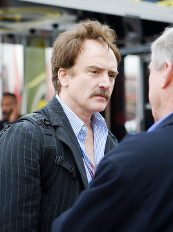 Actor Bradley Whitford in the garage area