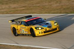 #3 Corvette Racing Chevrolet Corvette C6-R: Johnny O'Connell, Jan Magnussen, Antonio Garcia