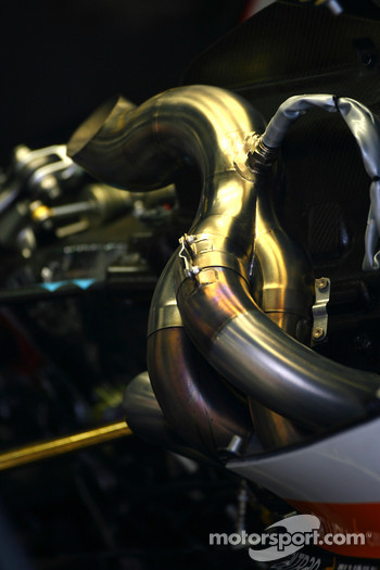 Renault F1 Team exhaust