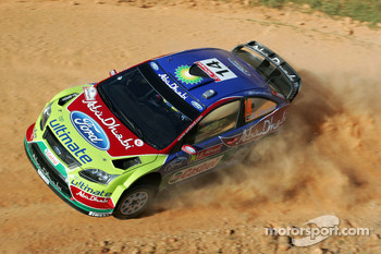 Khalid Al Qassimi and Michael Orr, Ford Focus RS WRC 08, BP Ford Abu Dhabi World Rally Team